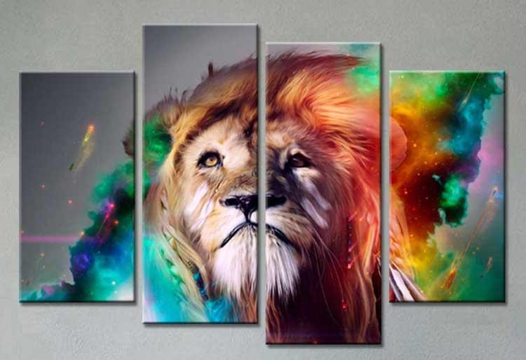 Tranh sư tử