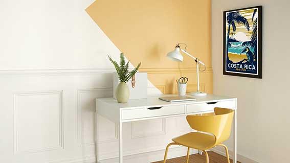 Phòng làm việc tại nhà và những ý tưởng về màu sắc