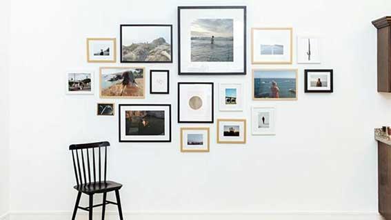 Ý tưởng để treo một bộ sưu tập tranh ảnh
