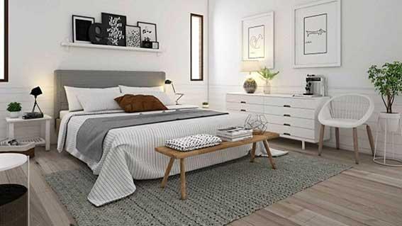 Ý tưởng thiết kế phòng ngủ phong cách scandinavian