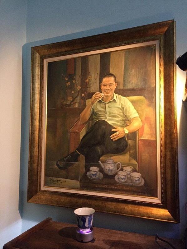 Bức tranh họa sĩ Phùng Huyền