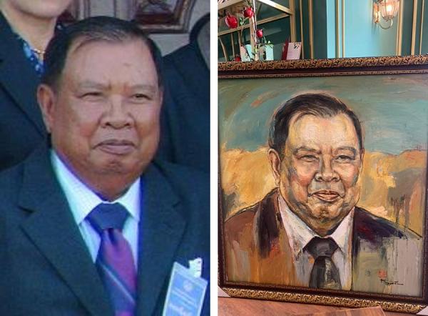 Chủ tịch Lào Bounnhang Vorachith