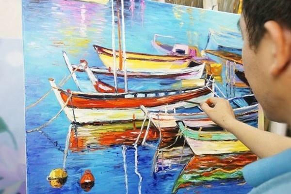 Ưu điểm và nhược điểm của tranh sơn dầu Việt Nam