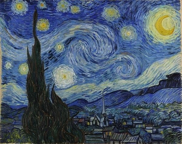 Đêm đầy sao – The Starry Night