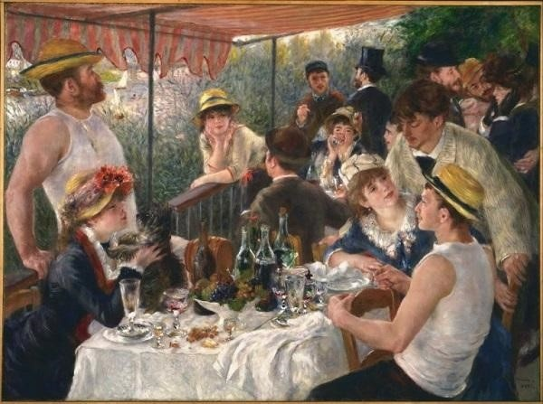 Luncheon of a Boating Party – Pierre Auguste Renoir