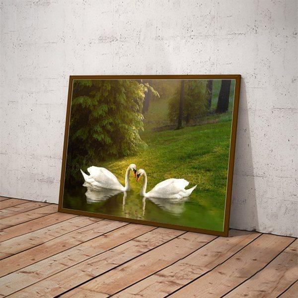 Sử dụng tranh trang trí giúp nhà bến đẹp mắt và ấm cúng